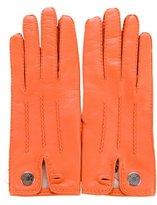 Hermes Lambskin Leather Gloves