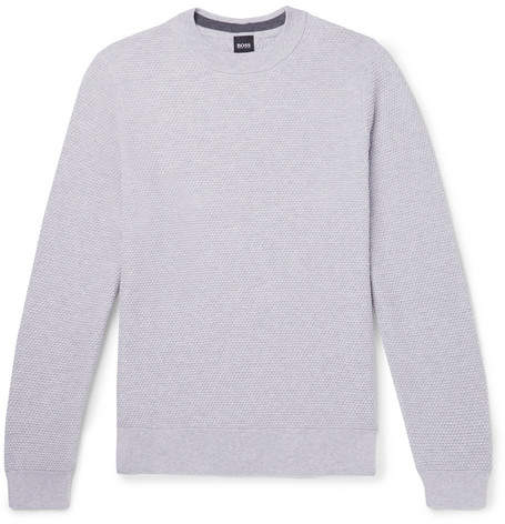4d2f34331 Hugo Boss Grey Sweater - ShopStyle