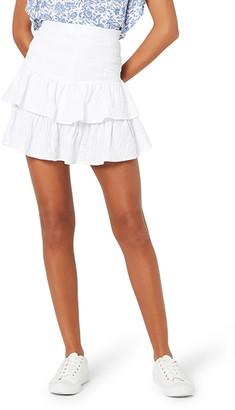 MinkPink Heart Strings Miniskirt