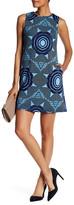 Donna Morgan Kaleidoscope Print Scuba Trapeze Dress