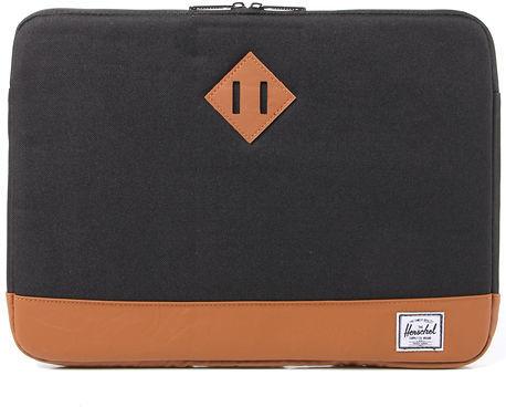 Herschel The Heritage 15 Laptop Sleeve in Black