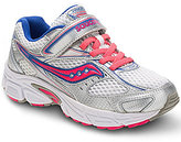 Saucony Girl's Cohesion 8 Alternative Closure Running Shoe