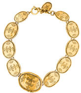 Chanel CC Oval Link Collar Necklace