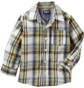 Osh Kosh Oshkosh Bgosh Boys 4-12 Plaid Button Down Shirt