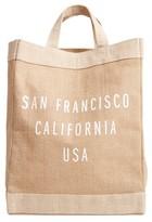 Apolis San Francisco Simple Market Bag - Brown