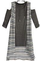 Sequin Hearts 2-Pc. Cold-Shoulder Dress & Duster Vest Set With Coordinating Necklace, Big Girls (7-16)