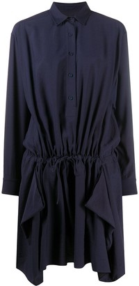 Kenzo Ruffled Shirt Dress