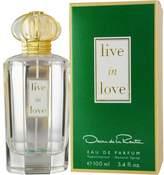 Oscar de la Renta Live In Love by Eau de Parfum Spray for Women - 3.4 oz.