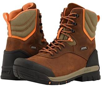 Bogs Bed Rock 8 Composite Toe (Brown Multi) Men's Boots