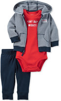 Carter's Baby Boys' 3-Pc. Little All-Star Hoodie, Bodysuit & Pants Set