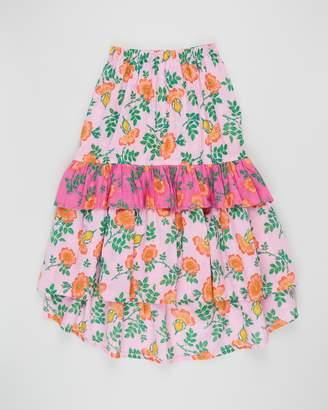 Coco & Ginger Birdie Maxi Skirt - Kids