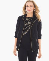 Chico's Neema Grommet-Detail Jacket