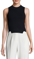 Jonathan Simkhai Tread Eyelet High Low Tank
