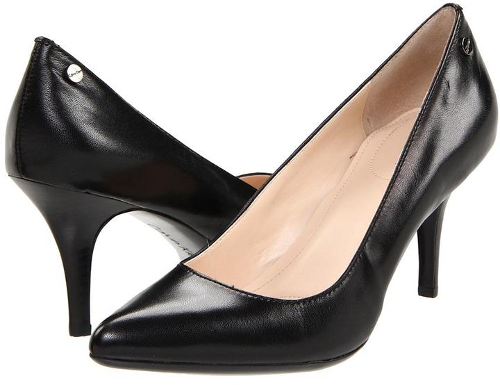 Calvin Klein Ashley (Black Kidskin) - Footwear