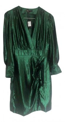 Maje Fall Winter 2019 Green Synthetic Dresses