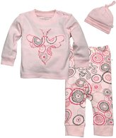 Burt's Bees Baby 3 Piece Bee Tee Set (Baby) - Cloud-6-9 Months