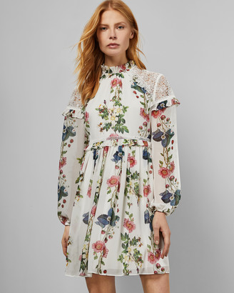 Ted Baker MARYAM oracle layered ruffle dress