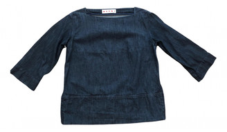 Marni Blue Denim - Jeans Tops