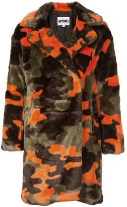 Apparis camouflage pattern jacket