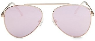 Colors In Optics Cosmic Single Brow Bar Aviators