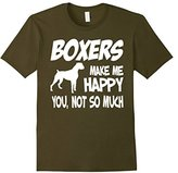 Men's Boxers Make Me Happy You Not So Much T shirt 3XL
