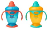 Cheeky Home Cheeky® Baby Hard Spout Trainer Cups - Orange & Blue -2ct