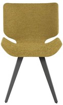 Everly Robichaux Upholstered Dining Chair Quinn Upholstery Color: Yellow