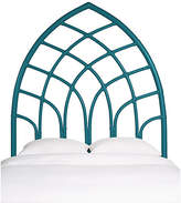 David Francis Furniture Cathedral Headboard - Pacific Blue