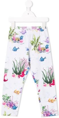 MonnaLisa Disney print leggings