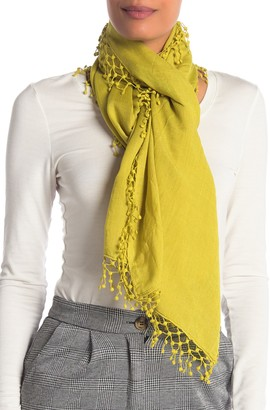 La Fiorentina Wool Silk Blend Scarf