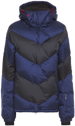 Perfect Moment Super Day Quilted Two-tone Shell Down Ski Jacket