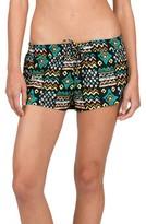 Volcom Women's Instinct Print Woven Shorts