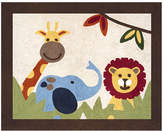 JoJo Designs Sweet Jungle Time Machine woven Cotton Area Rug Rug