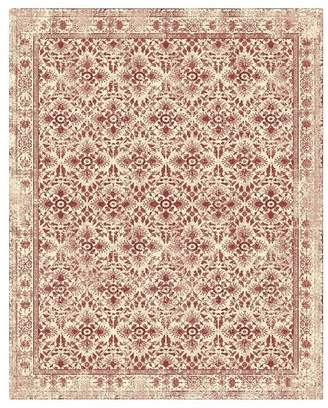 Pottery Barn Raina Easy Care Custom Rug - Sumac Multi