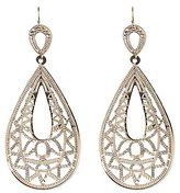 Charlotte Russe Teardrop Filigree Earrings