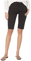 Vince Coin Pocket Bermuda Shorts (Black) Women's Shorts