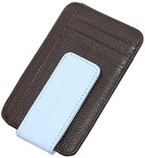 Tonsee PU-Leather Money Clip & Credit Card Holder