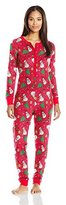 Fruit of the Loom Women's Waffle Thermal Union Suit