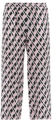 Max Mara Marruca Trousers - Womens - Pink Multi