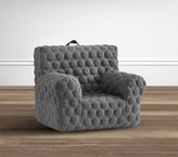 Pottery Barn Kids Organic Jersey Dot Charcoal My First Anywhere Chair®