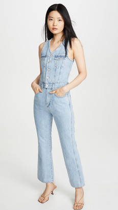 AGOLDE 70's Fitted Jumpsuit