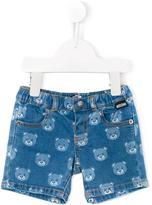 Moschino Kids teddy bear print shorts