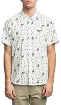 RVCA Men's Print Woven Shirt