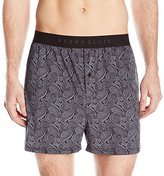 Perry Ellis Men's Techno Paisly Boxer