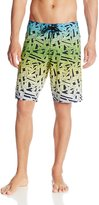 Micros Men's Jamrock Board Short, Black