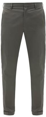 Paul Smith Cotton-twill Slim-leg Chino Trousers - Grey