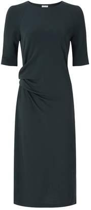 Jigsaw Gathered Waist Jersey Dress
