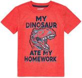 Arizona Stripe Tees Graphic T-Shirt-Preschool Boys