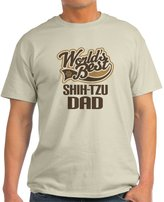 CafePress - Shi-Tzu Dad - 100% Cotton T-Shirt