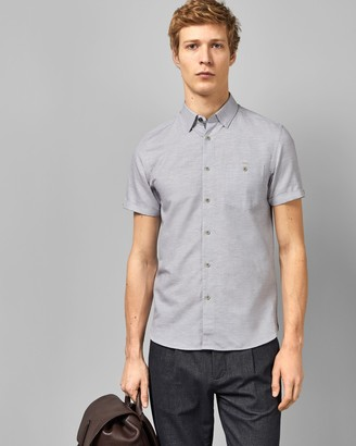 Ted Baker CLION Short sleeved linen blend shirt